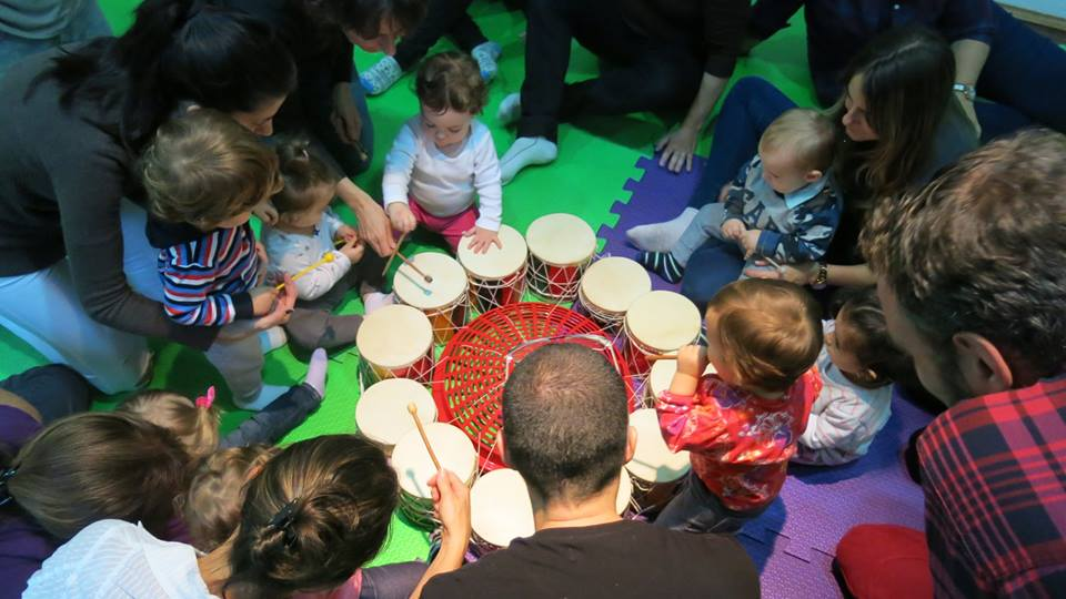 gran tambor y niños ver con lula
