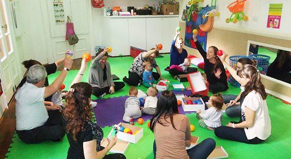 Grupos de Juego para bebés de 6 a 30 meses.