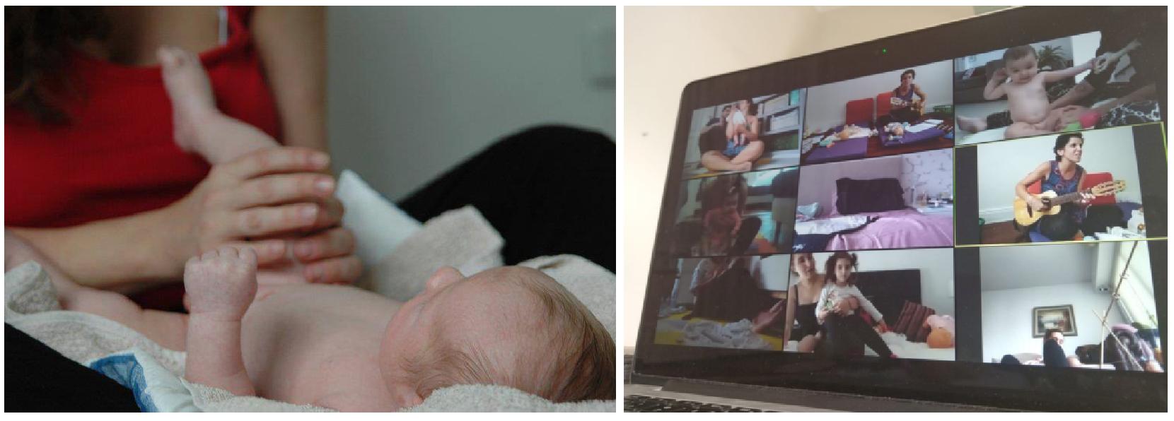 Online | Masaje para Bebés y Canciones en Ronda